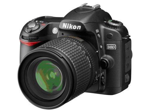 Nikon D80 (with 18-135mm Lens)