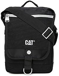 CAT The Giants Polyester 5 Ltrs Black Messenger Bag (83132-01)