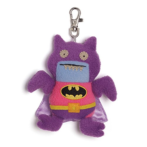 Uglydoll from Gund DC Comics - Ice-Bat Batman Clip Pink/Purple - 1