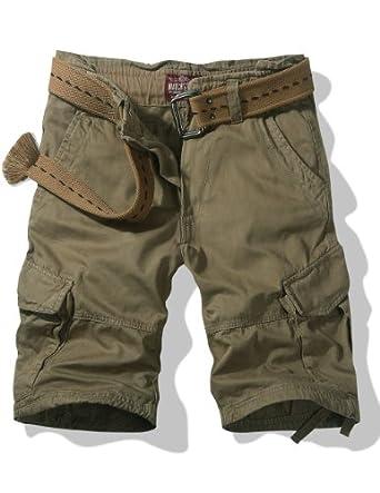 Match Men's Thin Fabric Cargo Shorts(3596 Light khaki,US38 (Label Size 4XL/40))