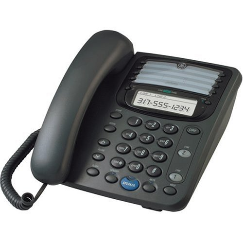 GE Corded Telephone with Speakerphone and LCD Display