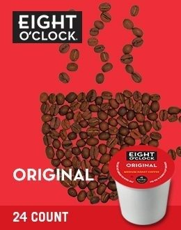 Eight O'Clock Coffee Original Blend K-Cups - 120 Count Box