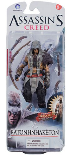 Mcfarlane Toys Assassin'S Creed Ratonhnhake Ton Action Figure