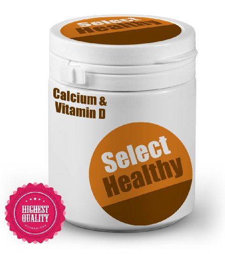 Select Healthy Calcium & Vitamin D - 360 tablets - UK Sourced