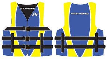 Airhead 10010-03-A-BL Blue Nylon Youth Life Vest