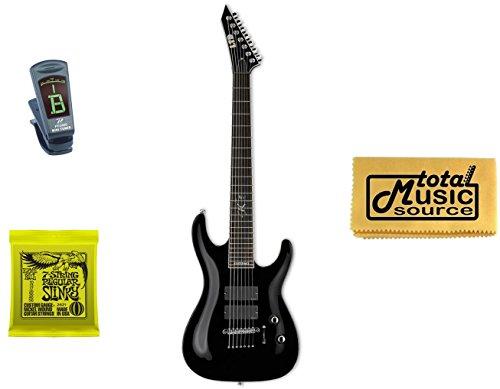 Esp Ltd Sc-607B Stephen Carpenter Baritone Guitar, Tuner, Strings, Polish Cloth
