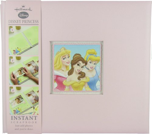 Hallmark Album Disney Princess Instant Scrapbook