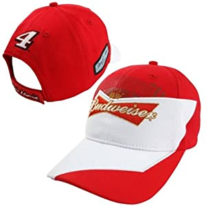 Kevin Harvick Budweiser #4 Nascar Chase Authentics 2014 Element Cap Hat by Chase Authentics