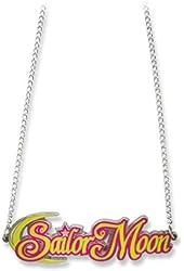 Sailormoon Sailor Moon Big Logo Metal Necklace