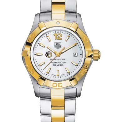 Florida State Women's TAG Heuer Two-Tone Aquaracer