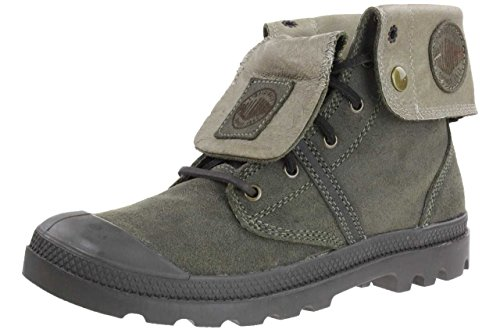 PALLADIUM PALLABROUSE Baggy Leather Men Boots 02520-309 olive drab, pointure:eur 46