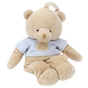 FAO Schwarz 12 inch Teddy Bear Musical Crib Toy - Tan
