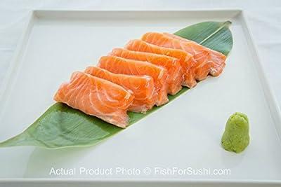 5 Pieces of Fish for Sushi Salmon Sashimi  (8 oz) from Fish for Sushi