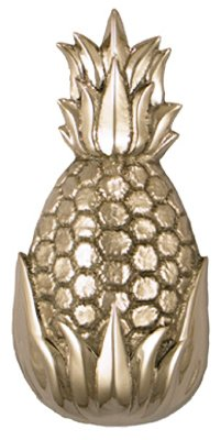 Michael Healy Designs MH1503 Nickel Silver Pineapple Door Knocker 8-1/2-Inch