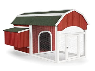 Prevue Pet Products 465 Red Barn Chicken Coop