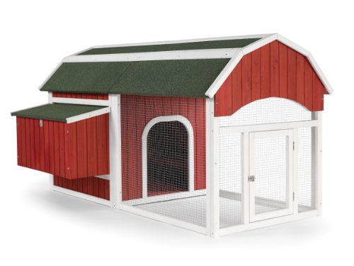 Prevue 465 Red Barn Chicken Coop (Chicken Houses And Pens compare prices)