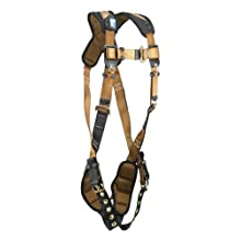 FallTech 70803X ComforTech with 1 D-Ring and Tongue Buckle Harness, Triple Extra Large