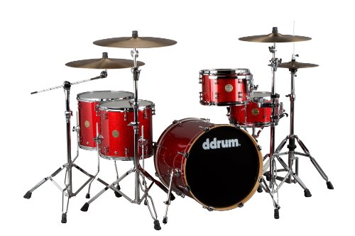 best ddrum dios m series ds mp 20 5 piece drum kit red cherry sparkle cymbals not included. Black Bedroom Furniture Sets. Home Design Ideas