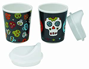 Sugarbooger Sippy Cups Set of 2, Dia De Los Muertos