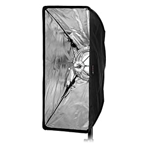Yongnuo Speedlights and More Softbox Compatible with Canon 25x60cm Fotodiox EZ-Pro 10x24 Nikon