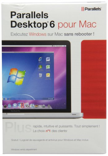 Parallels Desktop 6.0 (vf - French software)