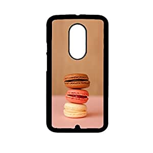 Vibhar printed case back cover for Motorola Moto X (2nd Gen) Macarrons