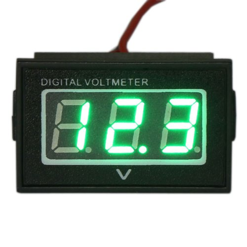 Drok Dc 2.7-30V Waterproof Car Battery Condition Gauge Auto/Motorcycle Volt M...