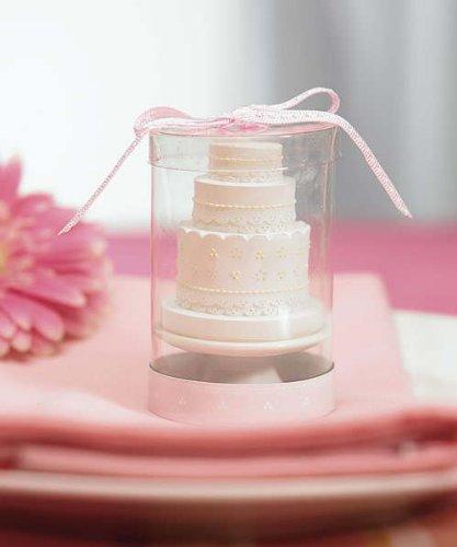 Weddingstar 8531 Elegant Lace Wedding Cake Candle
