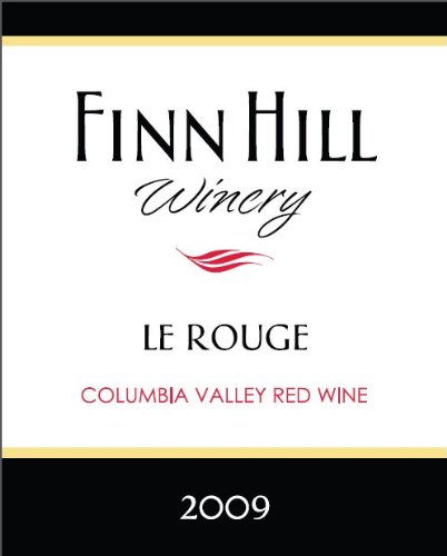 """2009 Finn Hill Winery """"Lerouge"""" Columbia Valley Bordeaux Style Red Blend 750 Ml"""