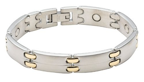Sabona Executive Sport Duet Magnetic Bracelet, Size Large