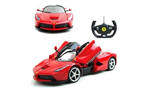 1/14 Scale Ferrari La Ferrari LaFerrari Radio Remote Control Model Car R/C RTR Open Doors (Color May Vary) - 41CBAiLFurL - 1/14 Scale Ferrari La Ferrari LaFerrari Radio Remote Control Model Car R/C RTR Open Doors (Color May Vary)