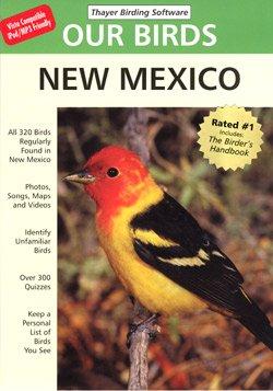 Thayer Birding Software TBS1887148515 Birds of New Mexico