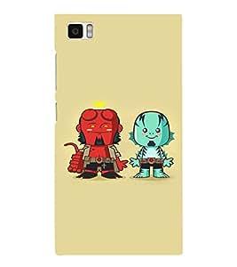 EPICCASE Little Demons Mobile Back Case Cover For Xiaomi Mi3 (Designer Case)