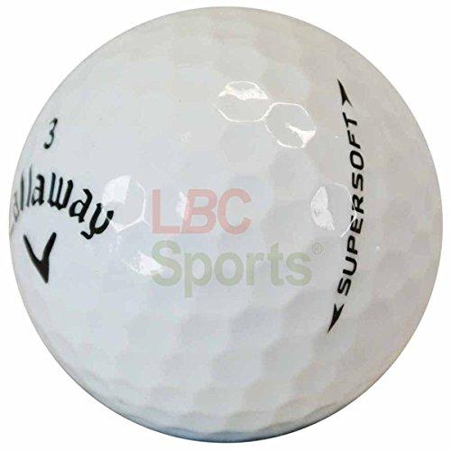 LBC-Sports 36 Callaway Supersoft - AAAA-AAA - weiß - Lakeballs - gebrauchte Golfbälle