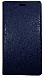 S 4 Case, Samsung Galaxy S4 Soft Leather Case, Mobile Slim Wallet Flip Cover - Credit Card ID Holders (Navy)