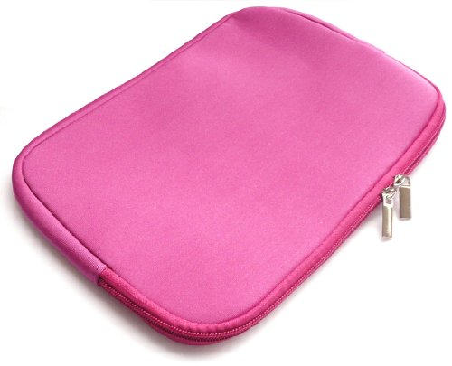Emartbuy® HP Pavilion x2 Detachable Laptop 10.1 Pollice Hot Rosa Impermeabile Morbido Neoprene con Chiusura a Zip Custodia Sleeve Case Cover ( 10-11 Pollice eReader / Tablet / Netbook )