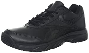 Reebok Women's Work N Cushion Walking Shoe,Black,5 M US