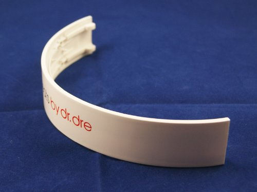 Replacement Headband For Beats By Dr Dre Wireless Headphones Repair / Parts (White)
