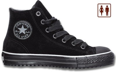 Converse All Star - Unisex Chucks, Leder, schwarz, 1629264/42,5