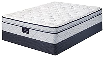Serta Perfect Sleeper Lockland Super Pillow Top Mattress Hybrid Gel Innerspring from Serta