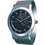 Obaku Harmony Quartz Watch with Pointer Date Sub-Dial V124GCBMC