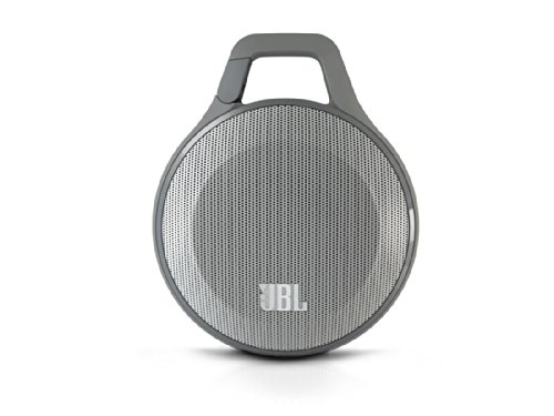 Jbl Clip Portable Bluetooth Speaker With Mic (Gray)