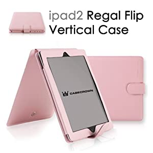 CaseCrown Regal Vertical Case for iPad 2 - Pink