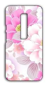 Motorola Moto X Play Floral Print Design Mobile Case Hard Back Cover for girls - Printed Designer Cover - MOTXPLYFLRLB129