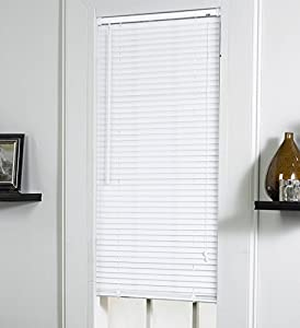 1 vinyl mini blinds in ivory size 23 w x 42 for 15 inch window blinds