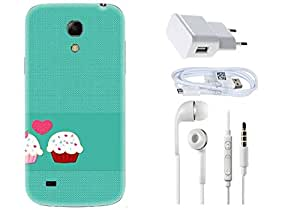 Spygen SAMSUNG GALAXY 6.3 Mega I9200 Case Combo of Premium Quality Designer Printed 3D Lightweight Slim Matte Finish Hard Case Back Cover + Charger Adapter + High Speed Data Cable + Premium Quality Handfree