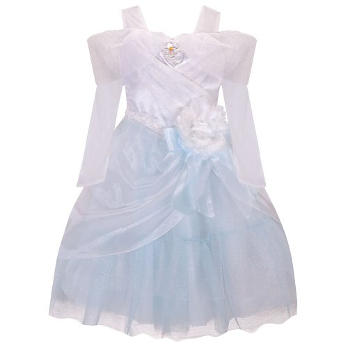 Disney Store Princess Cinderella Wedding Gown Costume Dress Size Small 5/6 (5T)