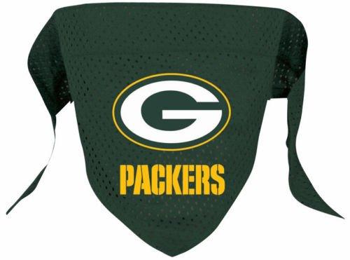hunter-mfg-green-bay-packers-mesh-dog-bandana-large