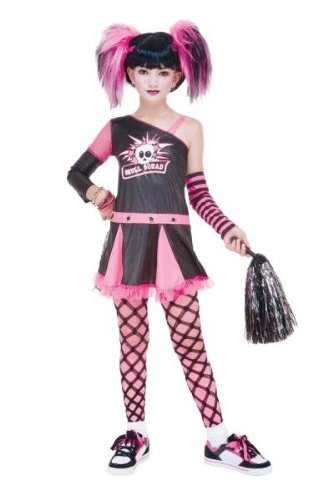 Costumes For All Occasions PM769652 Gothic Cheerleader Child 10-12