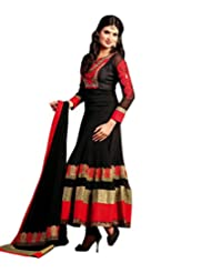 Saree dotcom Women Chiffon Anarkali Suit